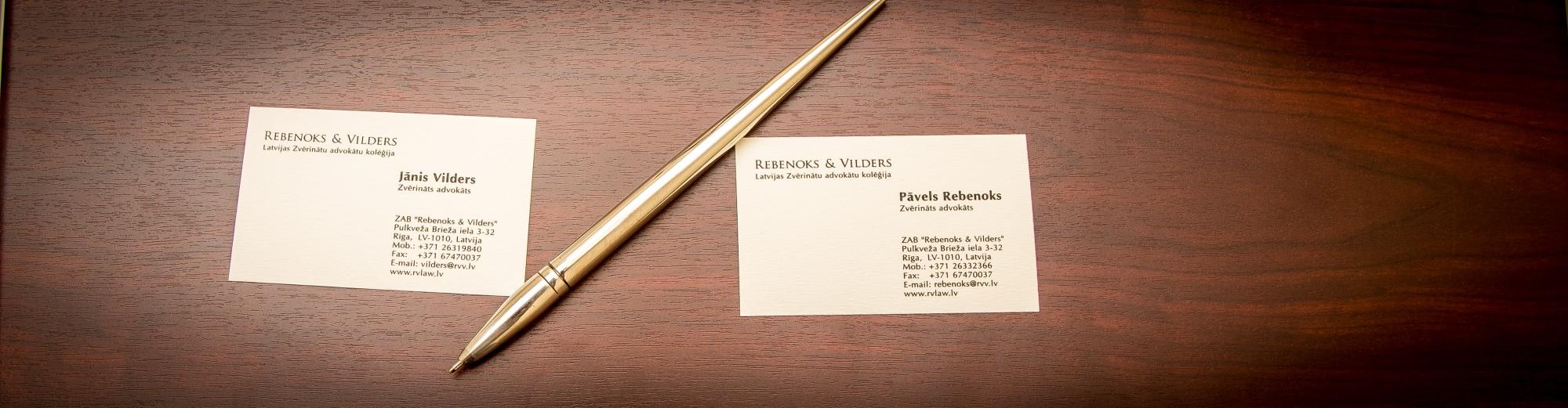 Law Firm Rebenoks & Vilders